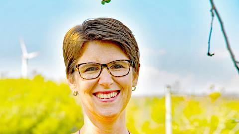 Astrid Kaufmann ist in Roßdorfs Parlament Teil einer grünen Doppelspitze. Foto: Klaus Holdefehr