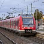 Durch die neue ICE-Strecke könnte die S7, hier im Bahnhof Riedstadt-Goddelau, über Mörfelden, Groß-Gerau und Riedstadt enger getaktet werden.  Foto: Vollformat / Robert Heiler