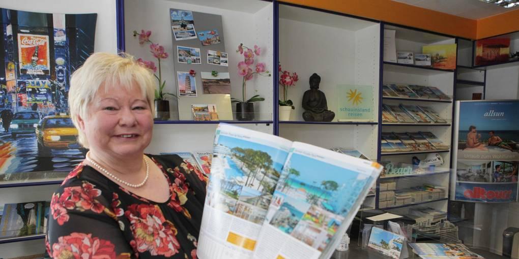 Evelyn Pichatzzek, de la agencia de viajes Starkey en Argel, no pudo confirmar el boom de Mallorca en Semana Santa en lo que respecta a las consultas.  Fotografía: pp / Schmidt