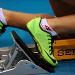 Kein Start, die Spikes bleiben in der Sporttasche. Der Leichtathletik-Kreis Hochtaunus hat die Hallenmeisterschaften 2021 abgesagt. Archivfoto: kie