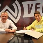 SVWW-Sportdirektor Christian Hock und Dominik Prokop.      Foto: SVWW