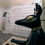 """Im Raum """"Tutankhamun's Tomb"""" geht es darum, aus einer ägyptischen Grabkammer zu entkommen. Foto: Hans Dieter Erlenbach"""