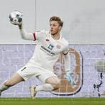 Florian Müller und Stammkeeper Robin Zentner zeigten als einzige gute Leistungen gegen Fortuna Düsseldorf. Foto: Sascha Kopp