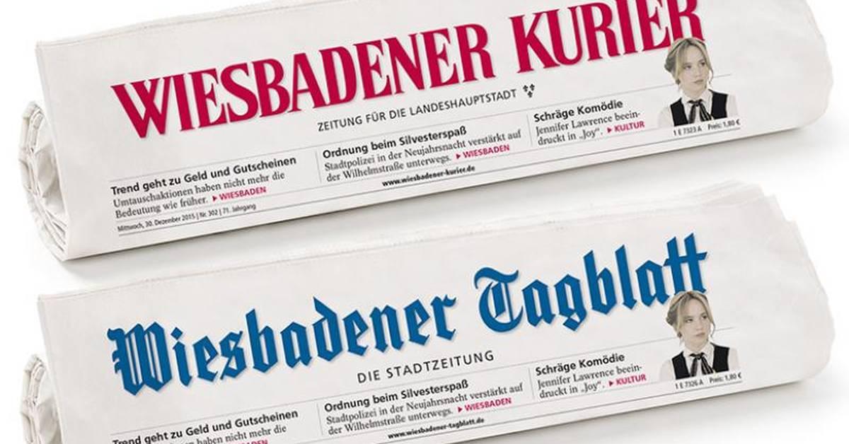 Das Wiesbadener Tagblatt geht im Kurier auf