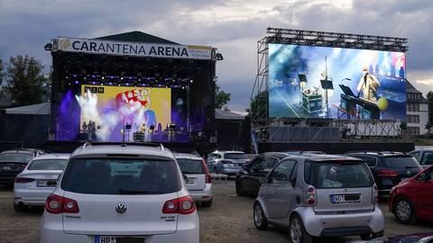 250 Stellplätze gab es in der Carantena Arena, nicht alle Vorstellungen erwiesen sich als finanziell rentabel.               Archivfoto: BilderKartell/Boris Korpak
