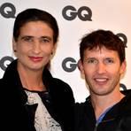 James Blunt und Anja beim Meet & Greet in der Komischen Oper. Foto: Anja Kossiwakis
