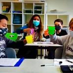 Der im Video gezeigte Wunsch der Kinder nach einem Wasserspender, damit alle ausreichend zu trinken haben, wird durch das Preisgeld vom Umweltministerium nun Wirklichkeit. Foto: Kerstin Kaminsky