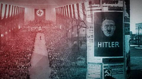 """Die """"Landvolkbewegung"""" protestiert Ende der 1920er Jahre gegen den sozialen Abstieg. Aus dem Protest wird eine radikale Bewegung, deren Wut Hitler und die NSDAP für sich nutzen. Foto: ZDF/Tobias Lenz"""