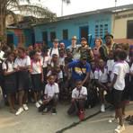 """Ein Filmteam von """"Worms macht die Klappe auf!"""" drehte an einer Schule in Kinshasa. Foto: WMDKA"""