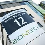 An der Goldgrube: So lautet bezeichnenderweise die Adresse des Hauptsitzes von Biontech.           Archivfoto: dpa