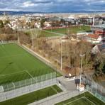 Die neuen Trainingsplätze des 1. FSV Mainz 05. Foto: Sascha Kopp