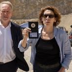 Eisner (Harald Krassnitzer) und Fellner (Adele Neuhauser) granteln wieder um die Wette. Bild: ARD Degeto/ORF