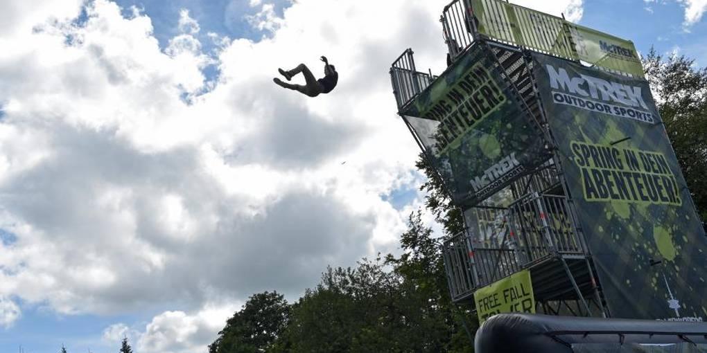 Free Fall Tower Hoherodskopf