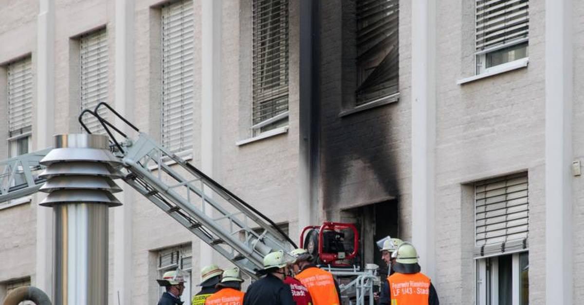 Rüsselsheim Feuer