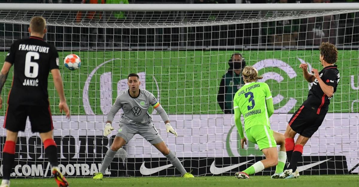 Eintracht Frankfurt holt Unentschieden in Wolfsburg