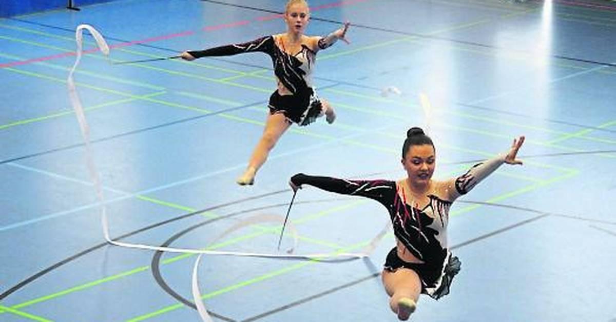 Gymnastik-Mannschaftsmeisterschaft beim TV Dieburg - Bürstädter Zeitung