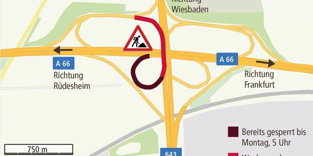 A643 Sperrung
