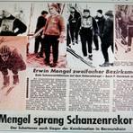 So steht's geschrieben vor nunmehr 50 Jahren im Kreis-Anzeiger: Erwin Mengel, der Ehrenvorsitzende des TGV Schotten, in Aktion. Foto: Repro/Mengel/Wagner