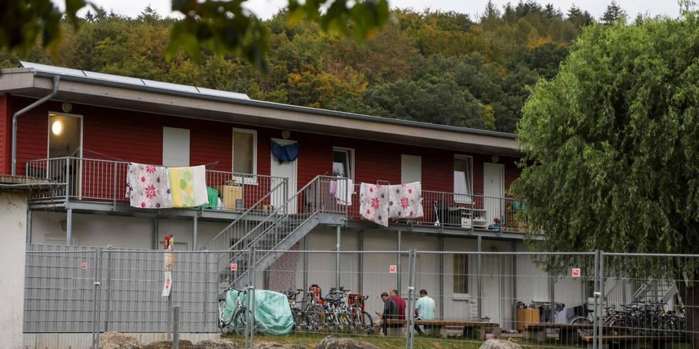Flüchtlingsheim Darmstadt