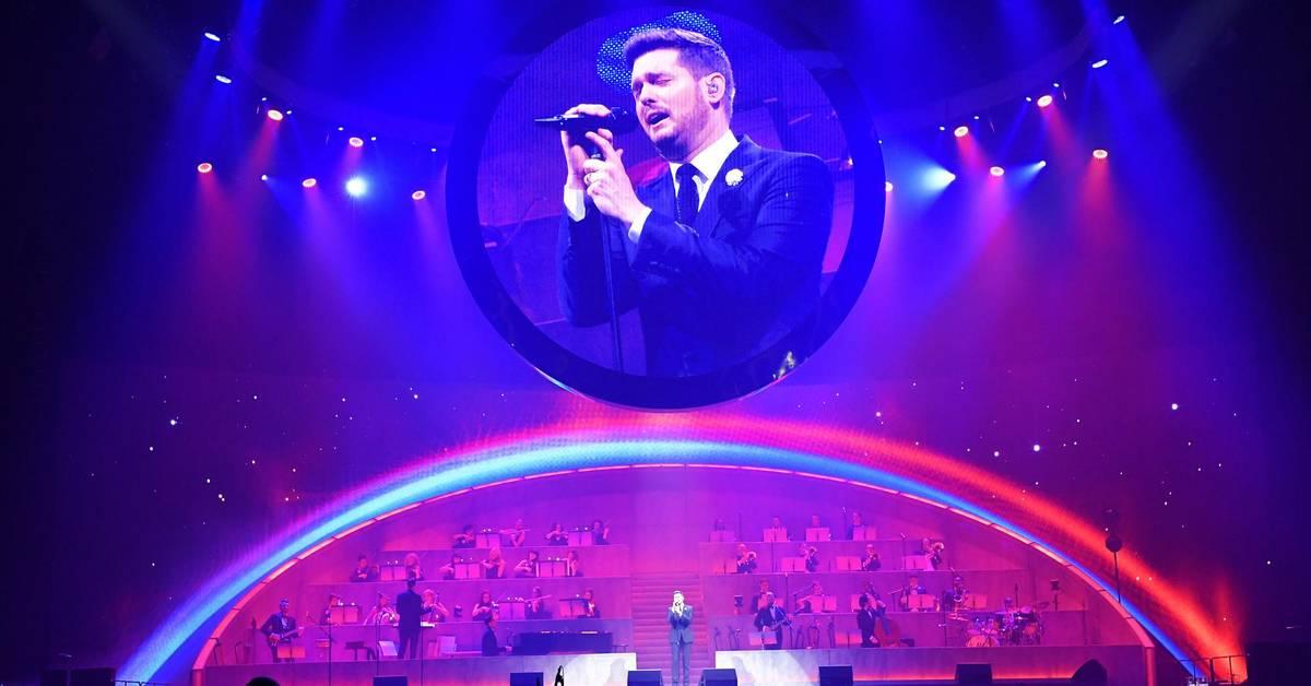 Michael Bublé begeistert in Mannheim - Wormser Zeitung