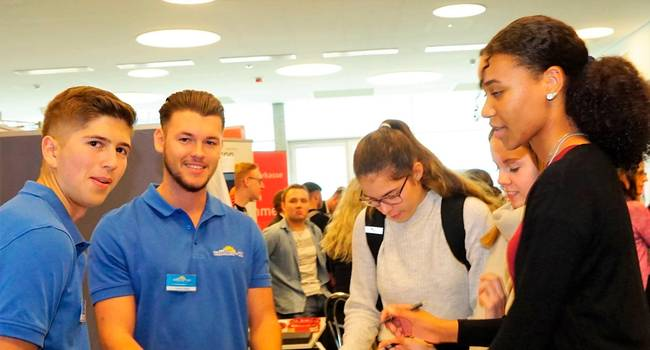 Bei Müller + Co freut man sich über interessierte Schüler. Foto: