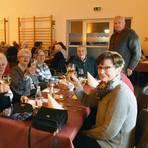 Volle Tische beim Benefizessen in Assmannshausen für die Schlimbach-Orgel. Foto: RMB/Heinz Margielsky