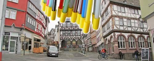 Die Altstadt könnte zum ersten volldigitalisierten Stadtbereich Wetzlars werden. Foto: Gross/Stratenschulte/dpa