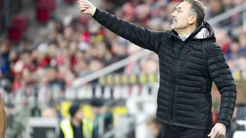 Trainer Achim Beierlorzer steht vor einem besonderen Spiel. Foto: Sascha Kopp