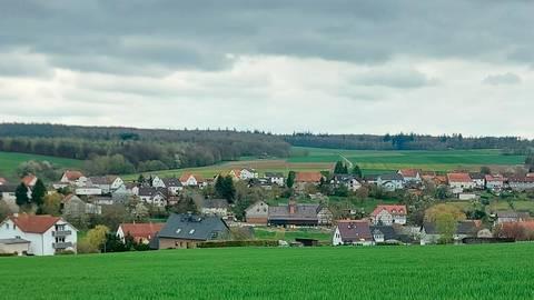 Blick auf Elbenrod. Foto: Günther Krämer