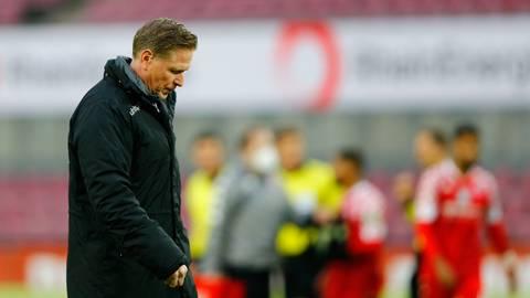 Köln-Trainer Markus Gisdol wurde nach der Niederlage gegen Mainz beurlaubt. Foto: dpa