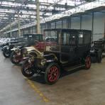 Im Heritage Hub befinden sich etwa 250 Klassiker aus der Produktion der Fiat-Gruppe (Fiat, Alfa Romeo, Lancia). Foto: Chowanetz