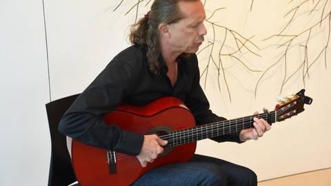 Flamenco im Kunsthaus präsentierte Ricardo Volkerts am Samstag in Niederlibbach. Foto: RMB/Wolfgang Kühner  Foto: RMB/Wolfgang Kühner