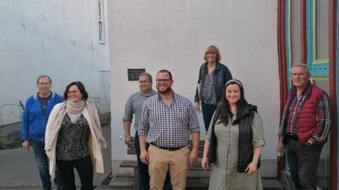 Im Aulhauser Ortsbeirat sitzen (von links): Andreas Hirschfeld (SPD), Candy Korn (CDU/für das künftige Magistratsmitglied rückt Marcel Gotta nach), Lothar Thewes (CDU), Alexander Brömser (CDU), Barbara Brömser (WIR), Madleen Heymach (CDU) und Wilfried König (WIR). Foto: Ortsbeirat Aulhausen