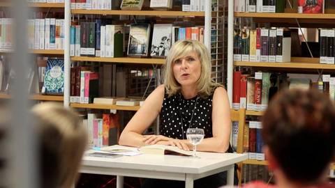 Susanne Reichert liest aus ihrem neuen Buch.Foto: hbz/Jörg Henkel  Foto: hbz/Jörg Henkel