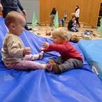 Kinderturnstunde bei Steffi Müller-Terwyen. Archivfoto: Anja Stichel