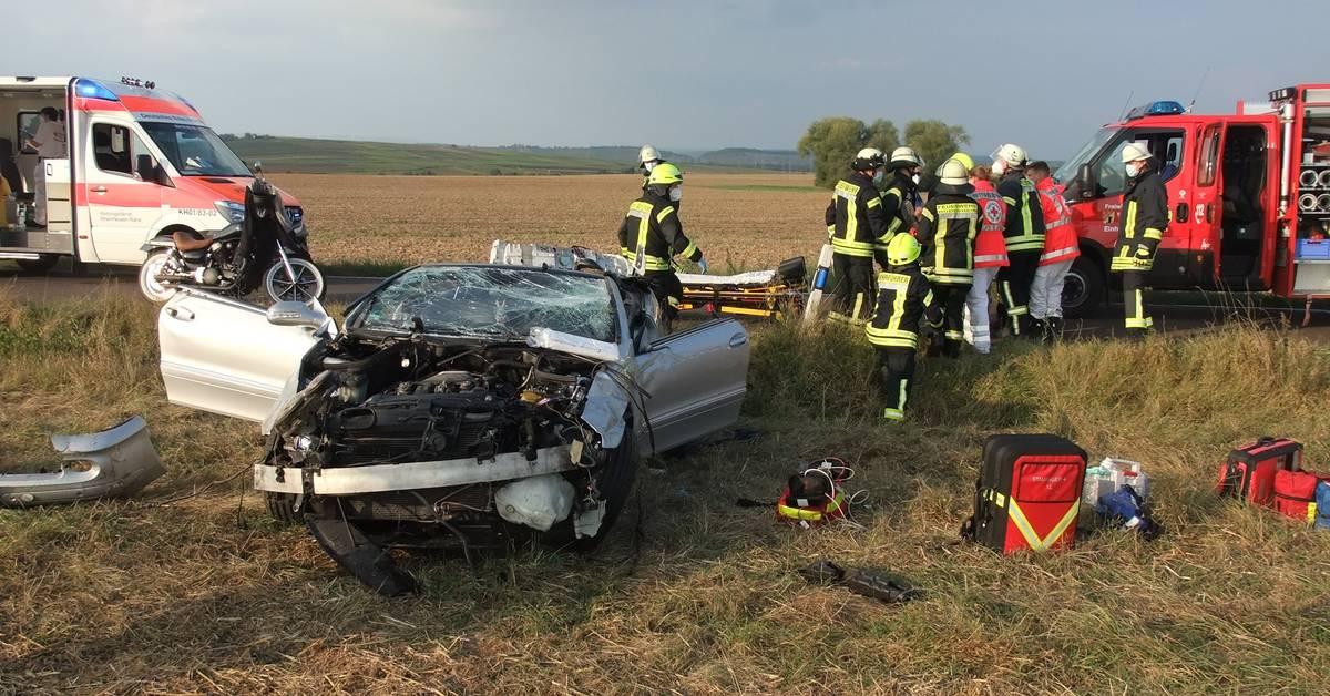 56-Jähriger nach Unfall bei Weinsheim schwer verletzt
