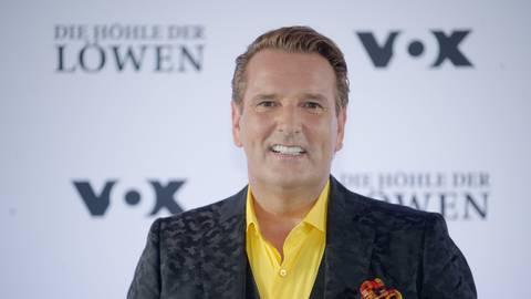 """Vox-""""Löwe"""" Ralf Dümmel will besser über Periode nachdenken. An dem Produkt seines neuesten Deals gibt es große Kritik im Netz.  Foto: Henning Kaiser/dpa"""