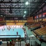 Ab Montag und dann für den gesamten November wieder leer, auch wenn Profisport stattfindet: die Wetzlarer Rittal-Arena. Foto: Zipp