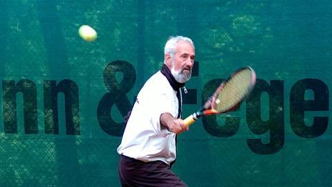 Hofft auf einen normale Medenrunde mit zahlreichen Teams aus dem Tenniskreis Wetzlar: Peter Mitlewski. Archivfoto: Gerhard Strohmann
