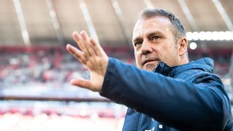 Trainer Hansi Flick will den FC Bayern München zum Saisonende verlassen. Foto: dpa