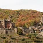 Preisgekrönt: die Burg Reichenstein bei Trechtingshausen Archivfoto: Rüdiger Lutterbach
