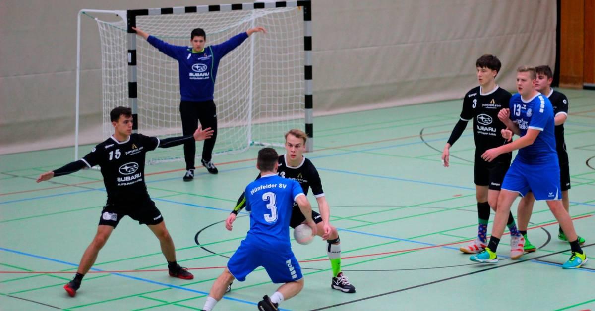 Handball: A-Junioren des TV Alsfeld ballern sich für Top-Spiel ein - Oberhessische Zeitung