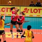 Nach starkem Beginn 1:3 verloren: Für Selma Hetmann und den VCW kommt in Suhl das Pokal-Aus. Foto: Detlef Gottwald