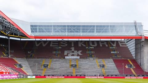 Blick in das Fritz-Walter-Stadion des 1. FC Kaiserslautern.  Archivfoto: imago