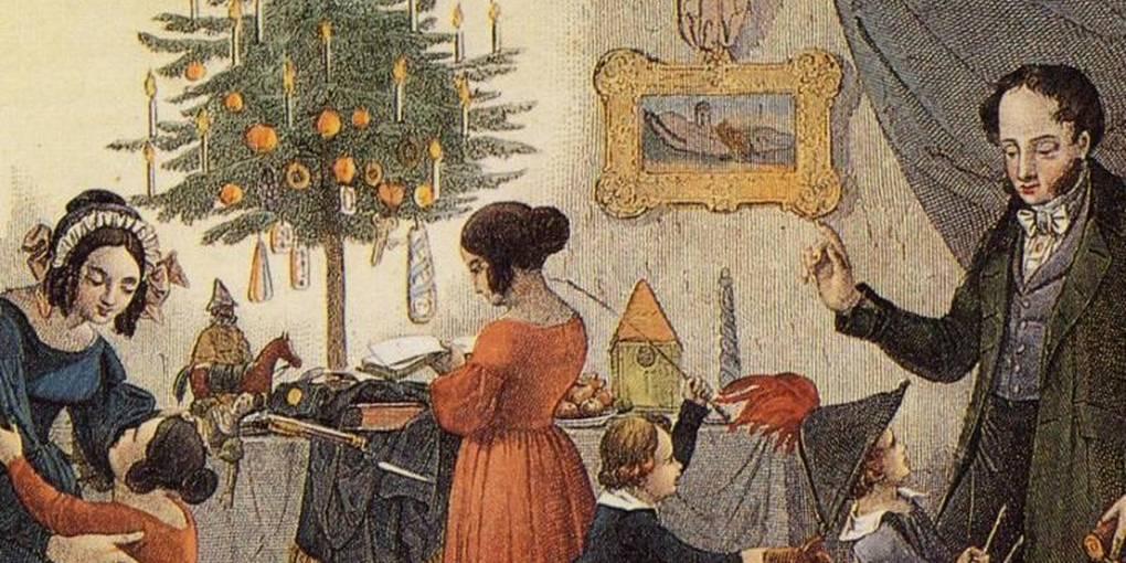 Ursprung Weihnachtsbaum.O Tannenbaum über Den Ursprung Des Weihnachtssymbols