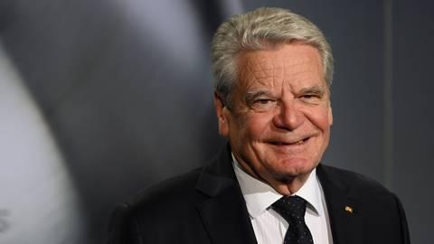 Der ehemalige Bundespräsident Joachim Gauck. Foto: dpa