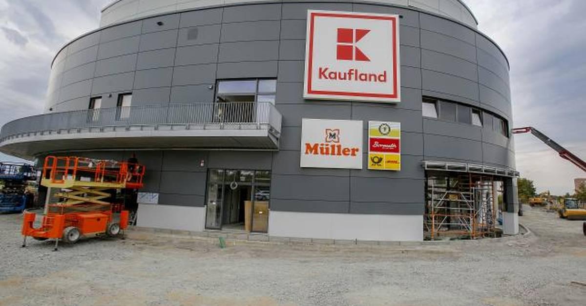 Kaufland will im September Markt und Einkaufszentrum bei