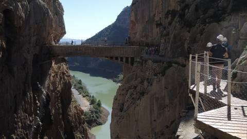 Klettersteig Caminito Del Rey : Wandern auf dem caminito del rey in spanien