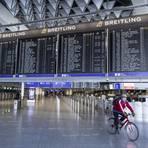 Der Flughafen in Frankfurt.  Foto: dpa