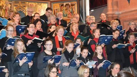 Fast zehn Monate intensive Vorbereitung liegen hinter den Sängerinnen und Sängern, die nun in einem gelungenen Finale ihren Abschluss finden. Foto: Maresch
